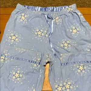 Delicates sleep pants size small women's